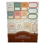 Pack di 11Laminas di Sticker adesivi vintage per agenda taccuino di viaggio Agenda Notebook o 4369