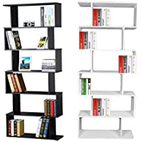 Libreria Bianca Con Ante In Vetro.Amazon It Vetrina Soggiorno Librerie Soggiorno Casa E Cucina