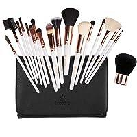 Make up Brushes, amoore 18 Pcs Makeup Brushes Set Make up Brush with Case Foundation Brush Powder Brush Concealer Brush Eyeshadow Brush