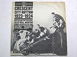 Jelly Roll Morton Crescent City Rhythm 1923-4 LP Riverside 8812 EX/VG 1964
