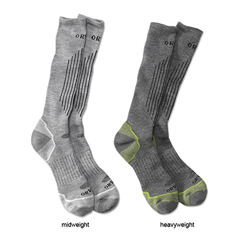 orvis-wader-socks-dark-grey-medium