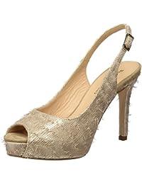 PEDRO MIRALLES 19425, Zapatos de Tacón con Punta Abierta para Mujer