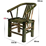 Muebles simples de bambú retro que cena las sillas Silla de salón Sillón Silla de bambú Silla de salón Sillas de mano ( Tamaño : C )