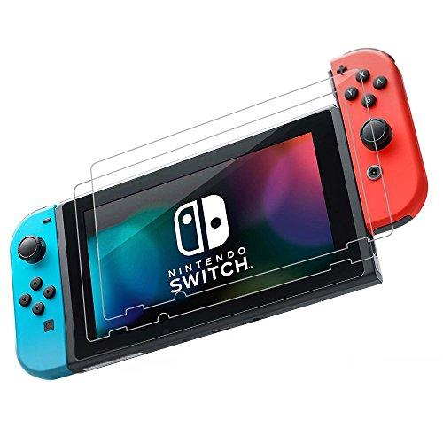 TUTUO Proteggi Schermo per Nintendo Switch Vetro Temperato 9H, Clear HD Premium per Nintendo Switch Tablet Screen ( 2 Pack )