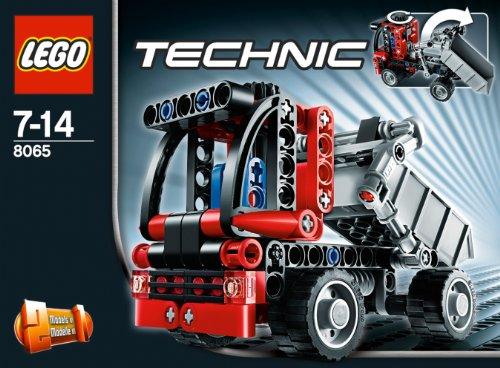 Imagen principal de LEGO Technic 8065 - Mini Camión Contenedor