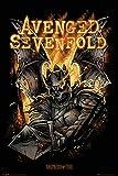 Empire Merchandising 662613Avenged Sevenfold, Sheperd of Fire, Música Póster gótico Heavy Metal Hard Rock, tamaño 61x 91,5cm