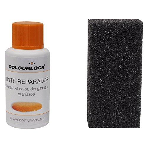 Tinte reparador cuero/piel F002 (BLANCO ROTO), 30 ml Colourlock® restaura el color del cuero en coches, sofás, ropa, bolsos