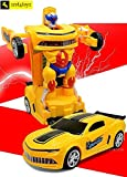 #2: Zest 4 Toyz Robot To Car Converting Transformer Toy For Kids.