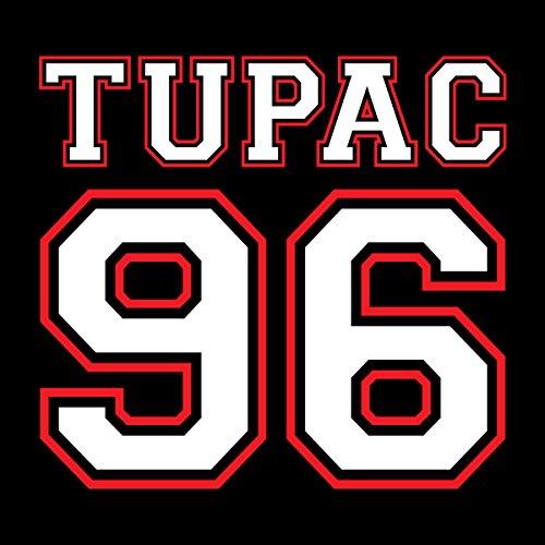 Tupac Shakur 96 Sports Number Men's Vest Black