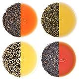 Earl Grey Tee Sampler - 5 TEES - Einzeln Verpackt, Loose Leaf (Lose Blätter) Tee (je 3-5 Tassen), Gartenfrische Tees, Angebaut, Verpackt & Versandt Direkt von der Quelle, Perfektes Tee Geschenk
