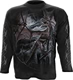 SPIRAL - T-Shirt Manches Longues Spiral DARK WEAR - Dragon Kingdom - Noir