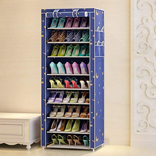 Familie Einfach und Praktisch Schuhregal Schuhregal Vertikale Lagerschrank Schuhschrank Staubdichte Komponente Lagerung Oxford Tuch Zeitgenössischen Modernen Minimalistischen 160 * 60 * 30 Cm Innen S -