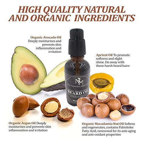 Beard-Oil-Premium-Finest-Quality-Natural-Organic-Ingredients-Blended-with-Natures-Liquid-Gold-Organic-Argan-Oil-All-In-One-Moisturiser-Leave-In-Conditioner-Soothes-Beard-Itch-Flaky-skin-Dandruff-Subtl