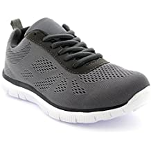 Mujer Get Fit Mesh Go Ejecutarning Atlético Caminar Zapatos Ejecutar - Negro/Negro - 37 2XGg3rp