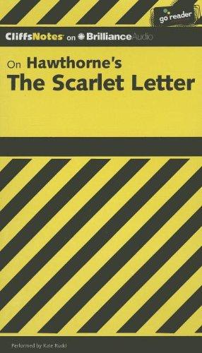 On Hawthorne's the Scarlet Letter (Cliffs Notes) (Notes Letter Cliff Scarlet)