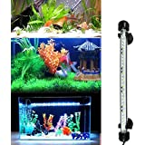 BURAQ ™ Aquarium Fish Tank Light Multicolour Changing Waterpoof iP68 Rated Light Fully Submergible Decorative lamp (27 cm Length)