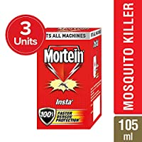 Mortein Insta 5 Plug in Mosquito Repellent Refill - 35 ml (Pack of 3)