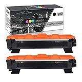 GPC Image TN1050 TN-1050 Kompatibel Toner Patronen Ersatz für Brother HL-1110 DCP-1510 HL-1210W DCP-1610W HL-1112 MFC-1810 HL-1212W MFC-1910W DCP-1612W DCP-1512 Drucker (Schwarz,2-Pack 3000 Seiten