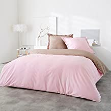 Amazonfr Housse Couette Taupe Rose