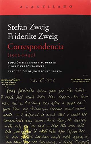 Correspondencia. 1912 - 1942 (El Acantilado)