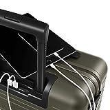 Horizn Studios Handgepäck Koffer | Cabin Trolley Model M | Hartschale 55 cm, 33 L, mit 4 Rollen und TSA Schloss (Olivgrün) -