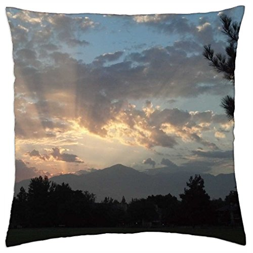 iRocket - Sunrise at Brookside Park - Throw Pillow Cover (24