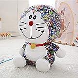 SDFAF Cartone Animato Armeggiare Gatto Peluche Giocattolo Grande Macchina Gatto Bambola Bambola Regalo Abbraccio Cuscino Riempito Giocattolo 55cm Colore