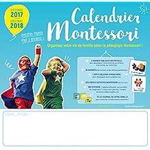 Calendrier Montessori 2017-2018
