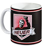 FC Bayern München Manuel Neuer - Tasse / Kaffeetasse / Kaffeepott / Mug plus Aufkleber