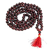 #8: MPF - Original Red Sandalwood Mala (Small Bead) / Original Lal Chandan Mala For Chanting Of Mantra / God's Workship Stuff-108 beads -1057