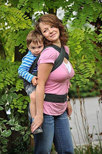 Marsupi Babytrage 144-44-59-001 Baby und Kindertrage, anthrazit - 5