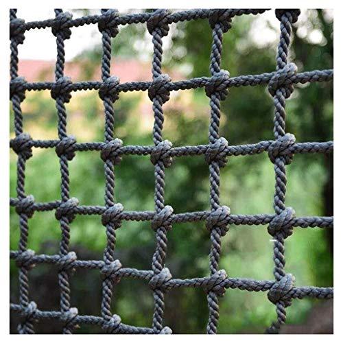ZGQSW Indoor Kletternetz, Spielplatz Kindergarten Schutznetz Kinder Klettern Training Seil Spielzeug Sicherheitsseil Anti-Fall-Netz Expansionsnetz Deckennetz (Size : 1 * 6m(3 * 20ft))