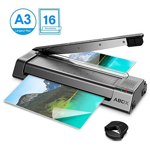 ABOX Plastifieuse A3, A4, A5, A7, Machine à Plastifier...