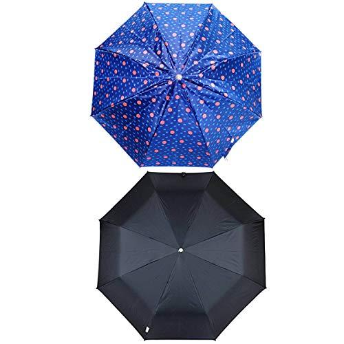 Umbrella for Women   Umbrella for Men   Umbrella Combo Set of 2   2 fold Umbrella   Ladies Umbrella   Black and Multi-Color Combo Umbrella by Five Star  