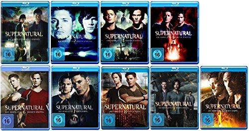 Blu-ray Set * Supernatural - Season / Staffel 1+2+4+5+6+7+8+9+10 (ohne 3)