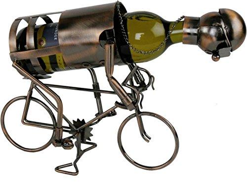 Flaschenhalter Rennrad in kupferoptik - handgefertigt -