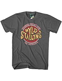 Bathroom Wall Bill and TED Inspired WYLD Stallyns Bogus Journey, Men's T-Shirt