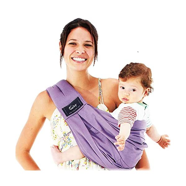 Cuby Baby Slings Carrier for Newborns and Breastfeeding (Purple) CUBY  1