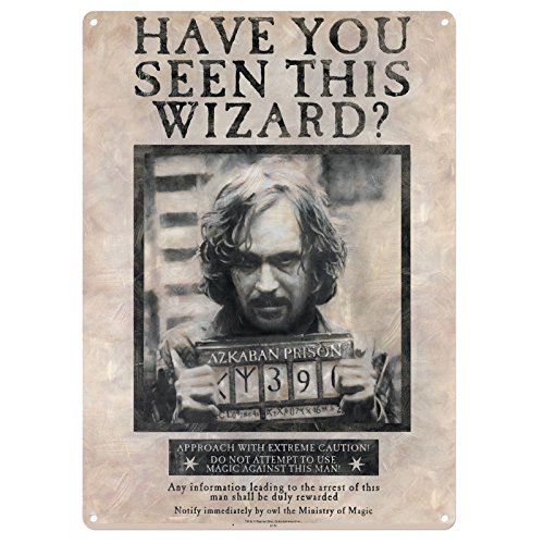 Tin Sign Large Harry Potter Sirius Black