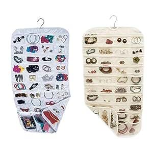 EasyBuy India L Beige Earring Bag Transpat Business Membership