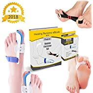 Penkwin® | 5 PIECE Complete Bunion Corrector Kit | Pain Relief & Correction | + FULL EBOOK GUIDE | Hallux Valgus & Bunion Pads, Splints, Straightener & Protector