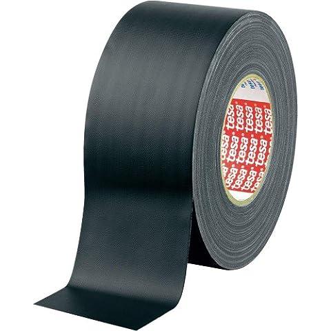 """Tesa® - Nastro adesivo """"Gaffer"""", 50 m x 50 mm, colore: Nero opaco"""