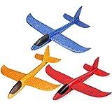 3pcs avión planeador glider avion juguete infantil, planeadores de...