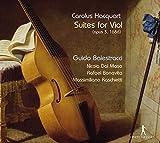Carolus Hacquart: Suites for Viol by Massimiliano Raschietti (2015-08-03)