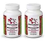 CherryActive Capsules 60 Pack of 2 (2x60 Capsules) by CherryActive
