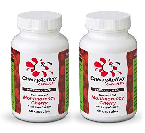 CherryActive Capsules 60 Pack of 2 (2×60 Capsules)