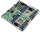 Intel S2600CWT Intel C612 LGA 2011-v3 SSI EEB server/workstation motherboard - Server/Workstation Motherboards (Intel, LGA 2011-v3, 4, 6, 8, 10, 12, 14, 16, 18, 57, 8,9.6 GT/s, 145 W, 145 W)