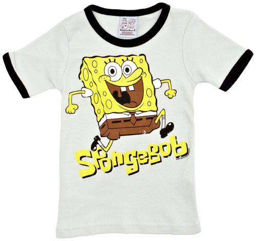 Shirt Kinder - hellblau - Lizenziertes Originaldesign - LOGOSHIRT, Größe 80/86, 18 Monate (Kinder Spongebob Schwammkopf Kostüme)