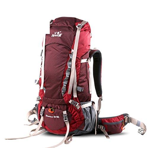 Bergsteigen Tasche/Outdoor-Rucksack Schulter/Klappbare Rucksack Reisen-1 65L 4