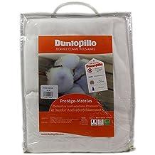 Dunlopillo PLSALPH140190DPO Protector de colchón blanco 140 x 190 cm